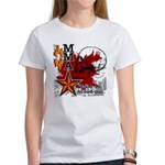 Blood in, Blood out MMA Women's T-Shirt