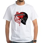 MMA Addict, In the Blood White T-Shirt