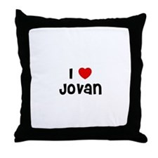 I * Jovan Throw Pillow
