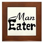 Man Eater Framed Tile