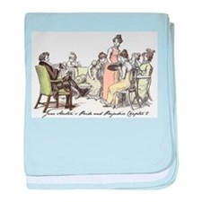 Pride and Prejudice Chapter 2 baby blanket