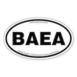 Bald Eagle Oval Sticker