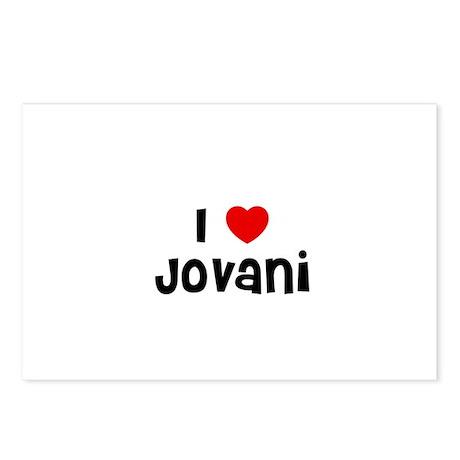 I * Jovani Postcards (Package of 8)
