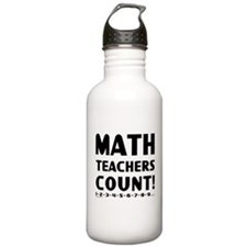 Teachers Count Water Bottle