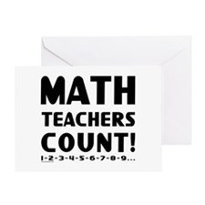 Teachers Count Greeting Card