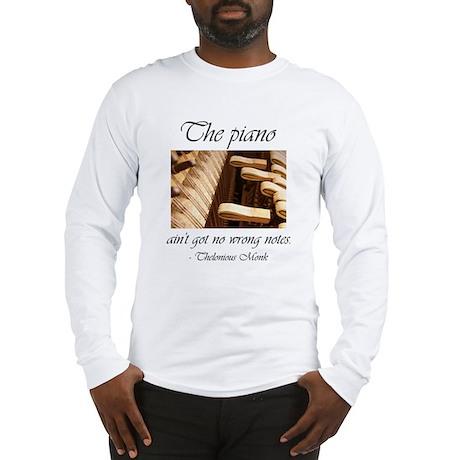 No Wrong Notes Long Sleeve T-Shirt