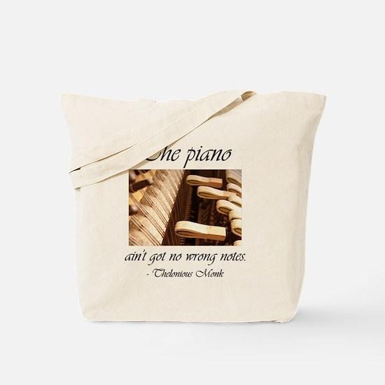No Wrong Notes Tote Bag