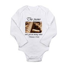 No Wrong Notes Long Sleeve Infant Bodysuit