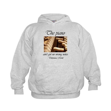 No Wrong Notes Kids Hoodie