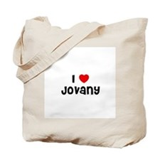 I * Jovany Tote Bag