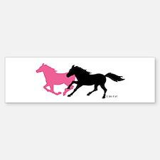 Horses (B & P) Bumper Bumper Sticker