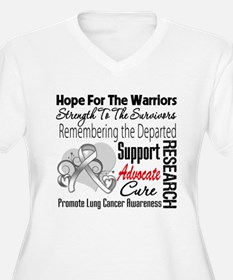Hope Tribute Lung Cancer T-Shirt