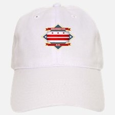 Washington DC Flag Baseball Baseball Cap