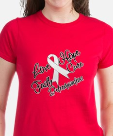 Love Hope Lung Cancer Tee