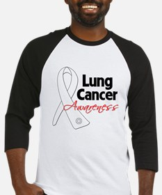Lung Cancer Awareness Baseball Jersey