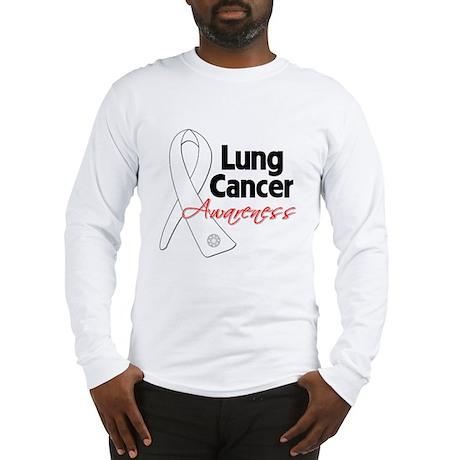 Lung Cancer Awareness Long Sleeve T-Shirt