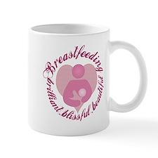 Breastfeeding,Brilliant,Blissful,Beautiful Small Mug
