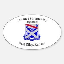 1st Bn 18th Infantry Decal