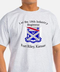 1st Bn 18th Infantry T-Shirt