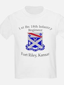 1st Bn 18th Infantry T-Shirt