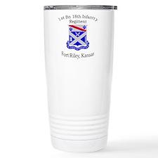1st Bn 18th Infantry Travel Mug