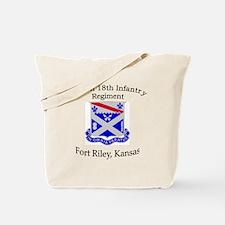 1st Bn 18th Infantry Tote Bag
