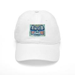 Folk Art Mask Baseball Cap