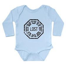 Dharma Lost Long Sleeve Infant Bodysuit