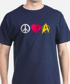 Peace Love Trek T-Shirt