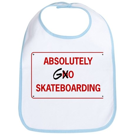 absolutley go skateboarding Bib