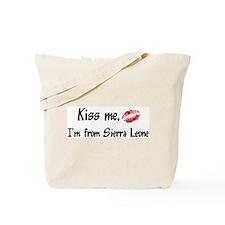 Kiss Me: Sierra Leone Tote Bag