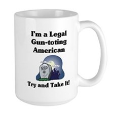 Large Gun-toting Mug