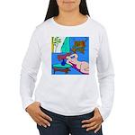 The Famous Dachshund Art Women's Long Sleeve T-Shi