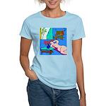 The Famous Dachshund Art Women's Light T-Shirt