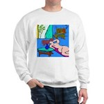 The Famous Dachshund Art Sweatshirt
