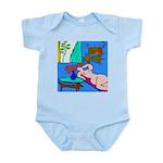 The Famous Dachshund Art Infant Bodysuit