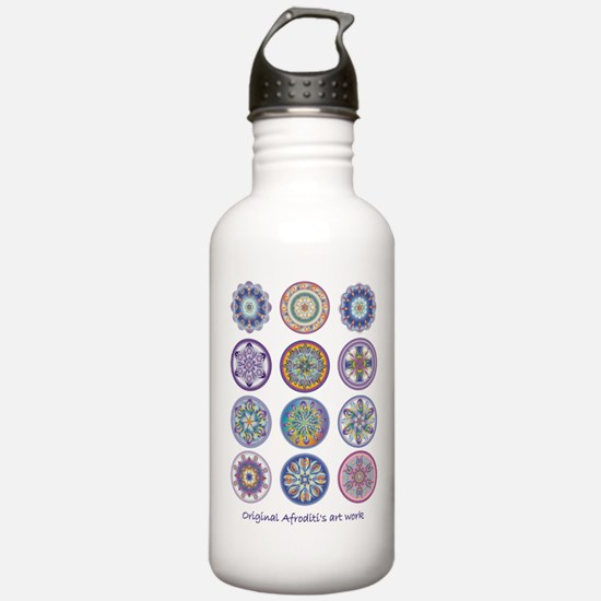 Healing Mandala Water Bottle