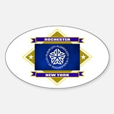 Rochester Flag Decal