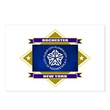 Rochester Flag Postcards (Package of 8)