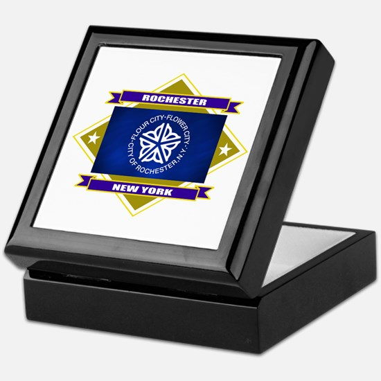 Rochester Flag Keepsake Box