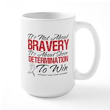 Bravery Lung Cancer Mug