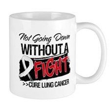 Not Going Down Lung Cancer Mug