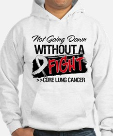 Not Going Down Lung Cancer Hoodie