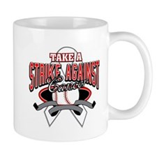 Take a Strike Lung Cancer Mug