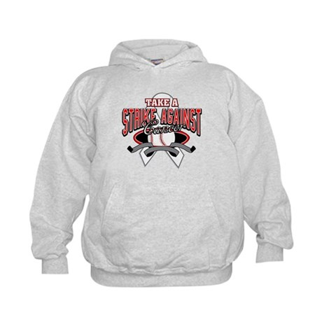Take a Strike Lung Cancer Kids Hoodie