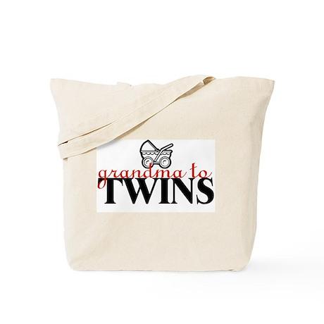 Grandma to Twins Tote Bag