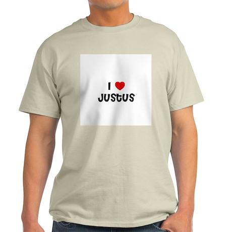 I * Justus Ash Grey T-Shirt