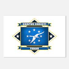 Corpus Christi Flag Postcards (Package of 8)