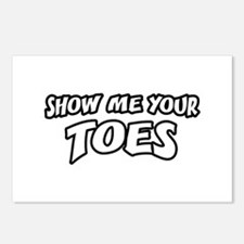 Show Me Your Toes Postcards (Package of 8)