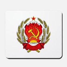 Soviet Russia Coat-of-Arms Mousepad